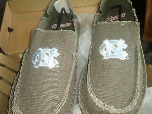 Campus-Cruzers-North-Carolina-Tar-Heels-Men-s-Loafer-Size-10-Beige