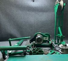 New Listinggreenlee 640 Tugger 4000lb 4k Cable Wire Puller Setup With Tool Box