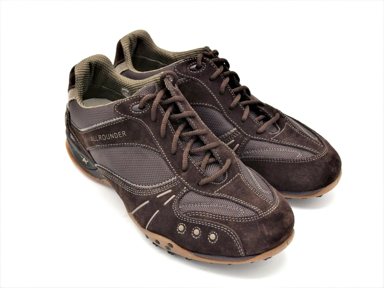 D604 New Men's Allrounder by Mephisto Kristel Brown Casual Lace Up Shoes 8 M