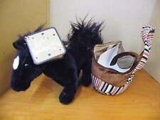 Giocattolo Morbido Pony Cavallo in un Animale Domestico Borsa Da Soft Sensations