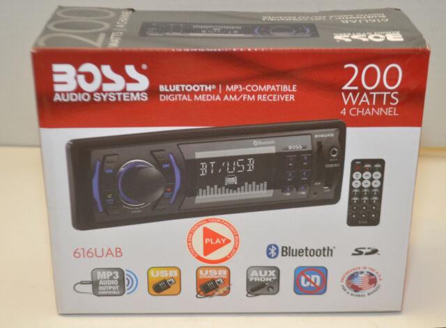 Audio Systems 616UAB Multimedia Car Stereo LCD Bluetooth NIB
