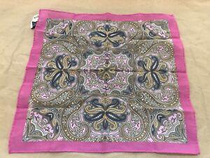 Pink-Men-039-s-Pocket-Square
