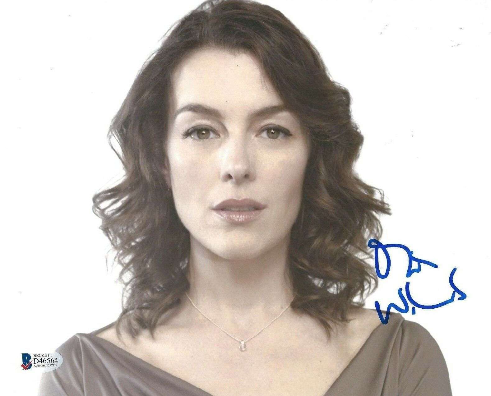 Olivia Williams Signed 8x10 Photo *The Ghost Writer *The Sixth Sense BAS D46564