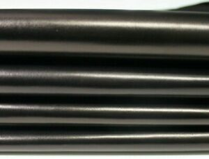 SMOOTH BLACK BRONZE HUE shiny Italian lambskin leather skin skins 4sqf #MARBKB3
