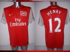 Arsenal HENRY Shirt Jersey football Soccer Nike Adult Large France Top Barcelona