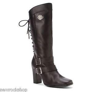 Damen Harley Davidson Biker Boots Shelia