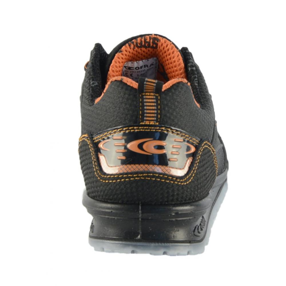 Scarpe Antinfortunistiche COFRA linea RUNNING modello CREGAN S3 SRC scarpe lavoro pelle antiabrasione, idrorepellente 78881 000