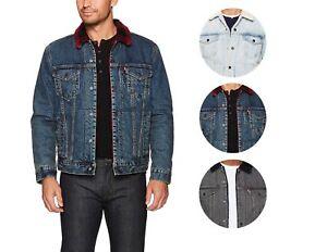 Levi's Men's Classic Button Up Cotton Sherpa Trucker ...