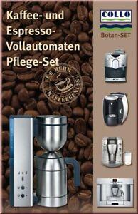 Collo Botan Reinigungs und Pflegeset für Kaffee Vollautomaten und Espresso