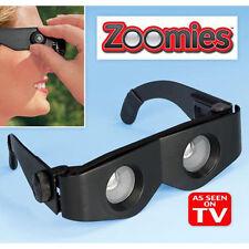 ZOOMIES- HandsFree ,Portable & Light Weight Binocular - As Seen on TV