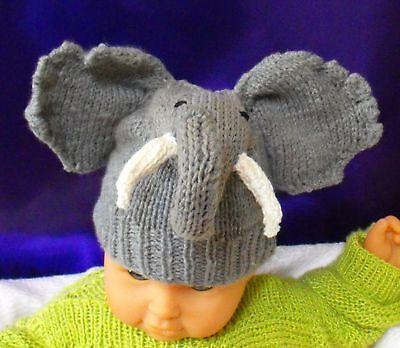 Crochet elephant hat | Etsy | 348x400