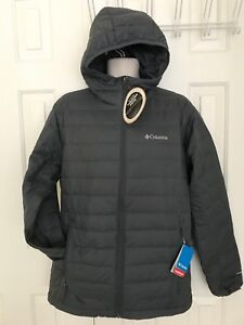 6ac358775 NWT COLUMBIA MEN'S VOODOO FALLS 590 TURBODOWN HOODED JACKET, Grey | eBay