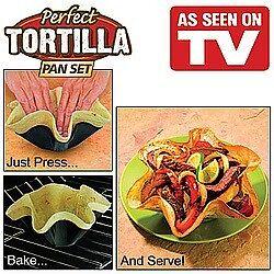PERFECT TORTILLA PANS