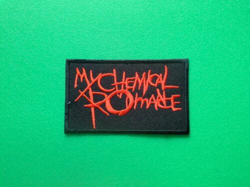 HEAVY METAL PUNK ROCK MUSIC SEW ON IRON ON PATCH: MY CHEMICAL ROMANCE MCR