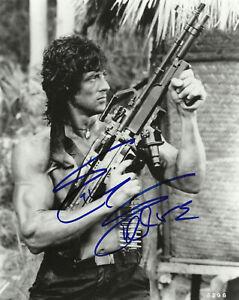Sylvester-Stallone-Rambo-John-Rambo-Autograph-Signed-10-X-8-Photo
