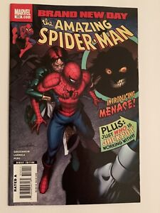 Amazing-Spiderman-550-NM-9-4-1st-Full-Appearance-Of-Menace-Marvel-Comics