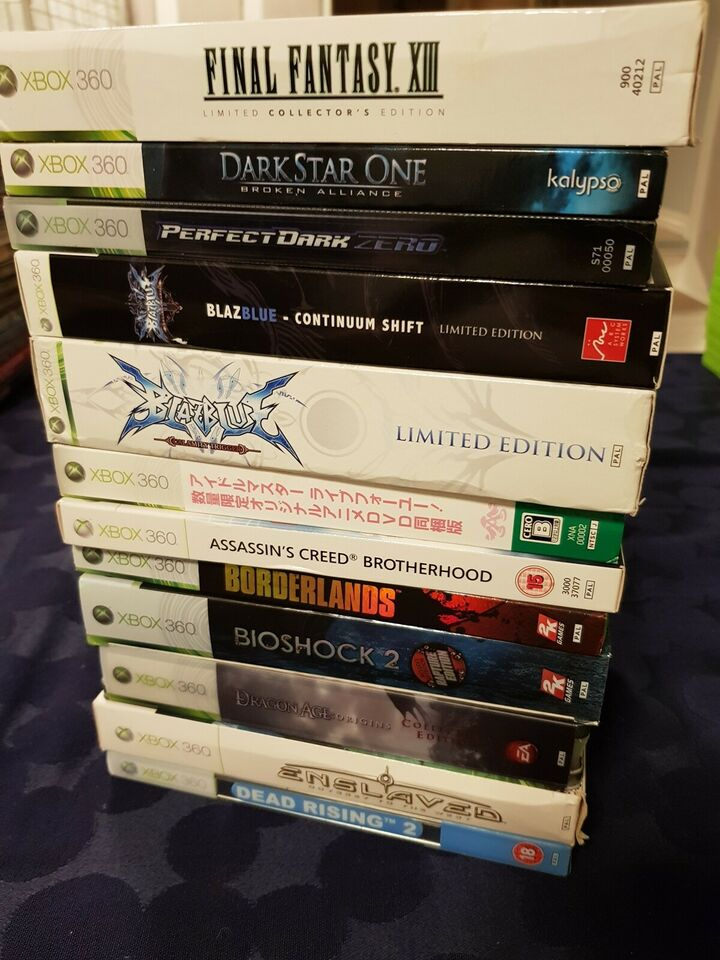 Xbox 360 limited collectors editions, Xbox 360, anden