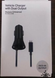 Verizon Vehicle Car Charger W Led Light Amp Dual Output For