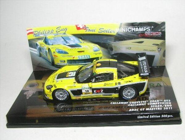 CORVETTE z06 r gt3 No. 18 ADAC GT Masters 2011