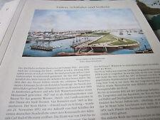 Bremen Archiv 2 Verkehr 2093 Beuer Hafen Bremerhaven ab 1852