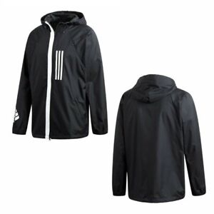 Details about Men's adidas ID WND Jacket Black DZ0047