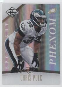 2012-Limited-Spotlight-Gold-159-Chris-Polk-Philadelphia-Eagles-Football-Card