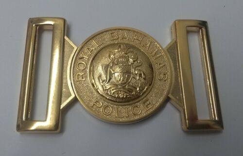 Genuine The Royal Bahamas Police Force Belt Buckle Insignia Locket MFB25