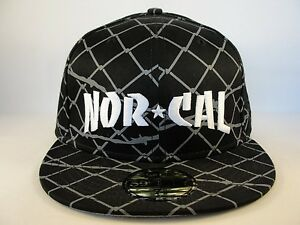 timeless design 2fc8b 10560 Image is loading Nor-Cal-New-Era-59FIFTY-Fitted-Hat-Cap-