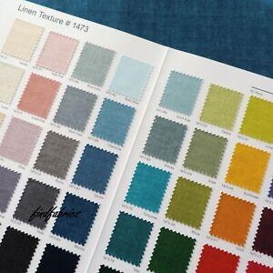 Linen-Texture-Cotton-Linen-Look-Makower-Fabrics-Per-Long-Quarters-60-Colours