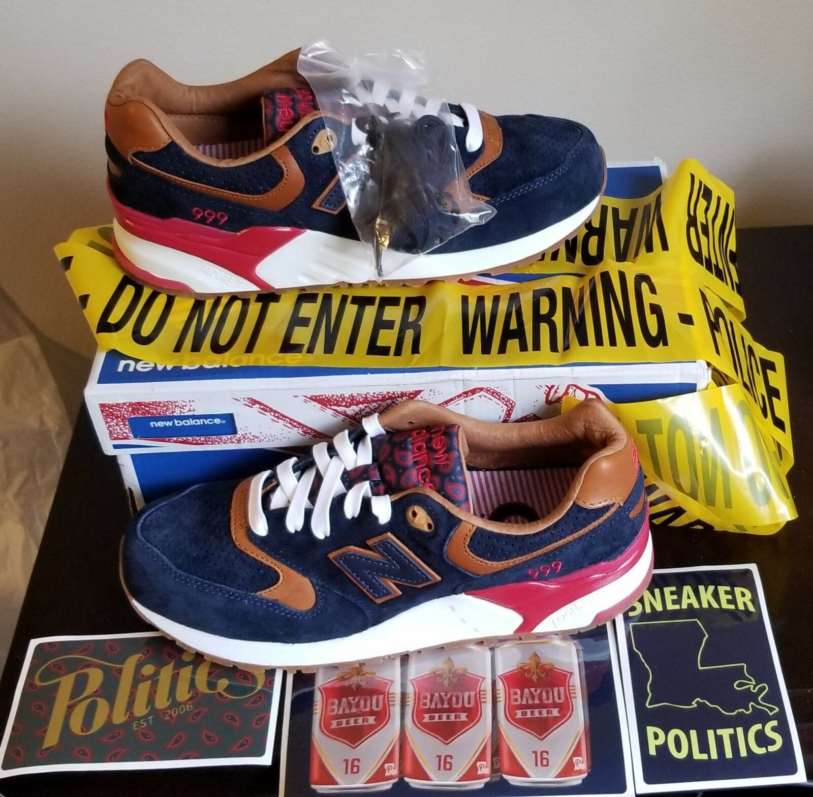 NEW AUTHENTIC NEW BALANCE x SNEAKER US POLITICS ML999SP 'CASE 999' US SNEAKER 8 2251e1