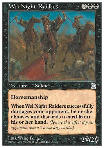 Wei Night Raiders MTG MAGIC P3K Portal Three Kingdoms Eng