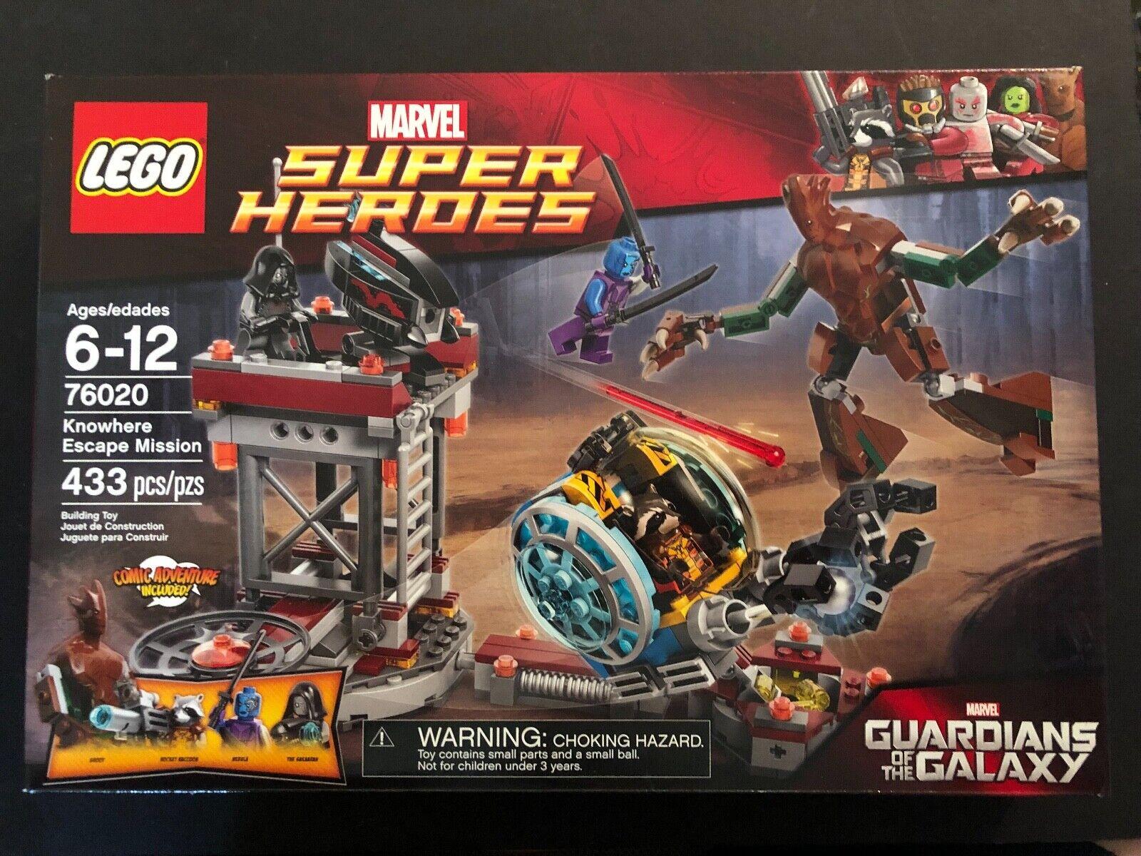 LEGO MARVEL 76020 Custodi della Galassia Conosciuta Missione di fuga
