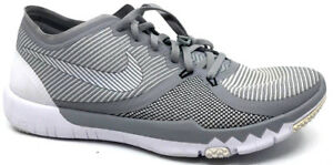 9a115ca4bb3 Nike Free Trainer 3.0 V4 Mens Sneaker Wolf Grey White-Black 749361 ...