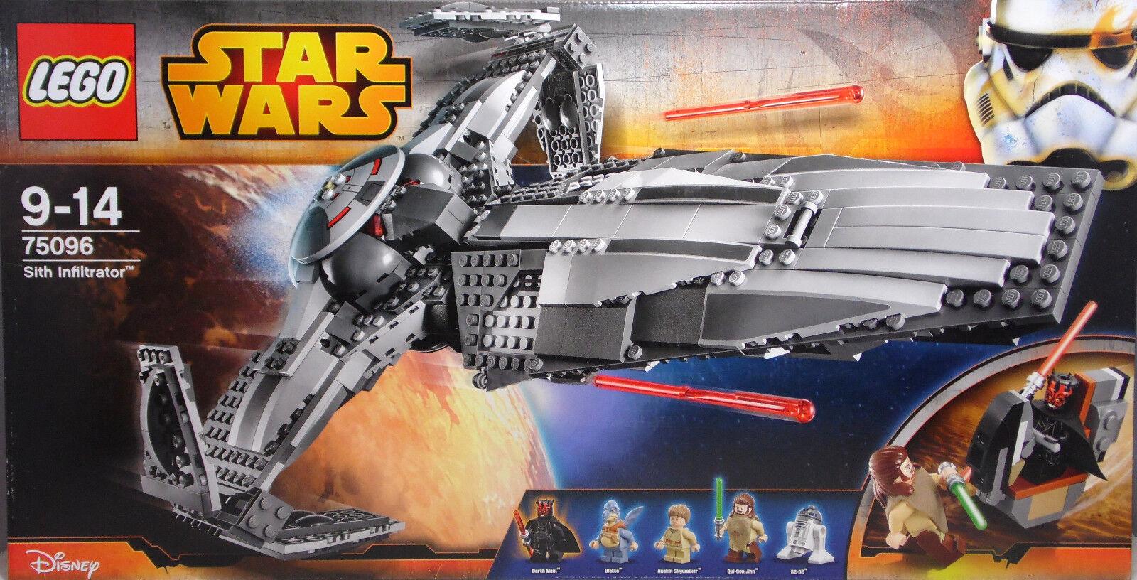 Lego Star Wars 75096 Sith Infiltrator Darth Maul Watto Watto Watto Anakin R2-D2 SEALED NEU 6027b1
