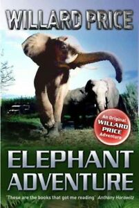 Elephant-Adventure-Paperback-by-Price-Willard-Brand-New-Free-shipping-in