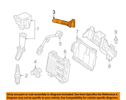 Chevrolet GM OEM Malibu-Engine Crankshaft Crank Position Sensor CPS 12662536