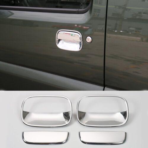 ABS Chrome Exterior Door Handle Frame Cover Trim for Suzuki Jimny 2007-2017 4pcs