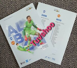 Brighton-v-Manchester-United-BEHIND-CLOSED-DOOR-Programme-30-6-20-READY-TO-POST