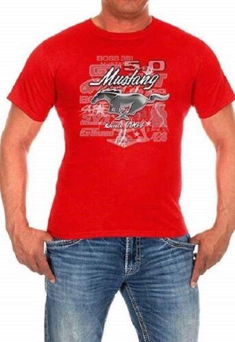 "Ford Mustang Shirt Men/'s Red Cotton Mustang 5.0 Since 1964 Shirt  /""BLOWOUT/"""