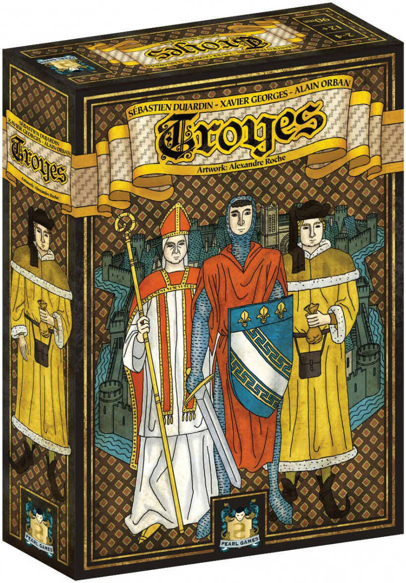 Troyes tavola  gioco Z-uomo giocos BRe nuovo ABUgiocos  risparmiare sulla liquidazione