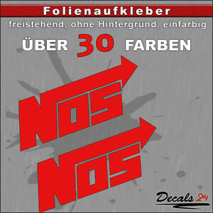 2er-SET-NOS-Sponsoren-Folienaufkleber-Auto-Motorrad-30-Farben-8cm