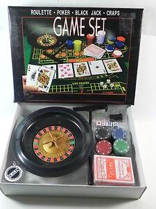 Kit Juegos De Mesa Ruleta Y Poker Ebay