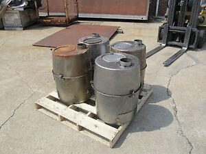 Image is loading Military-Tent-Stove-H-45-Liquid-Fuel-Burner- & Military Tent Stove H-45 Liquid Fuel Burner Variety Unused 4520-01 ...