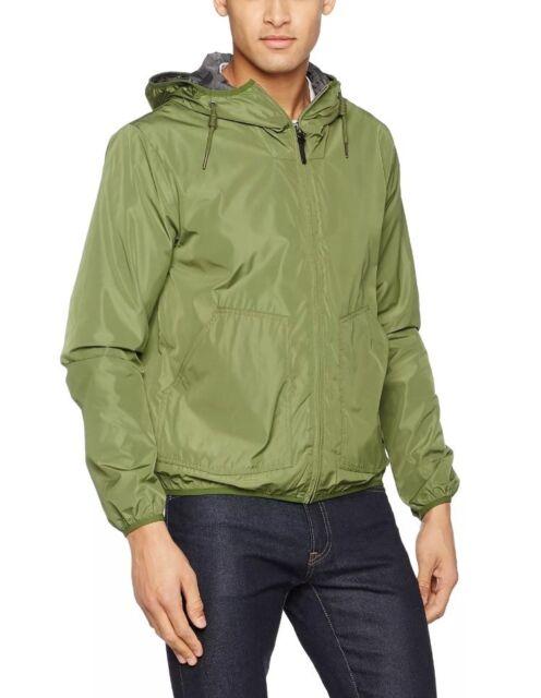 fd2cfc20eb9b0 Lee Men's Rain Jacket Raincoat Green (military Green) Medium for ...