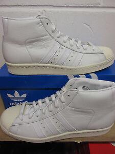 Détails sur Adidas Originaux Pro Modèle Vintage Dlx Hommes Hi Haut S75031 Baskets Chaussure