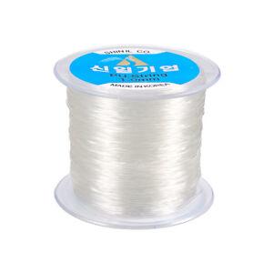 100m/Roll Korean Clear Elastic Cord Useful Jewelry Beading Thread 1mm