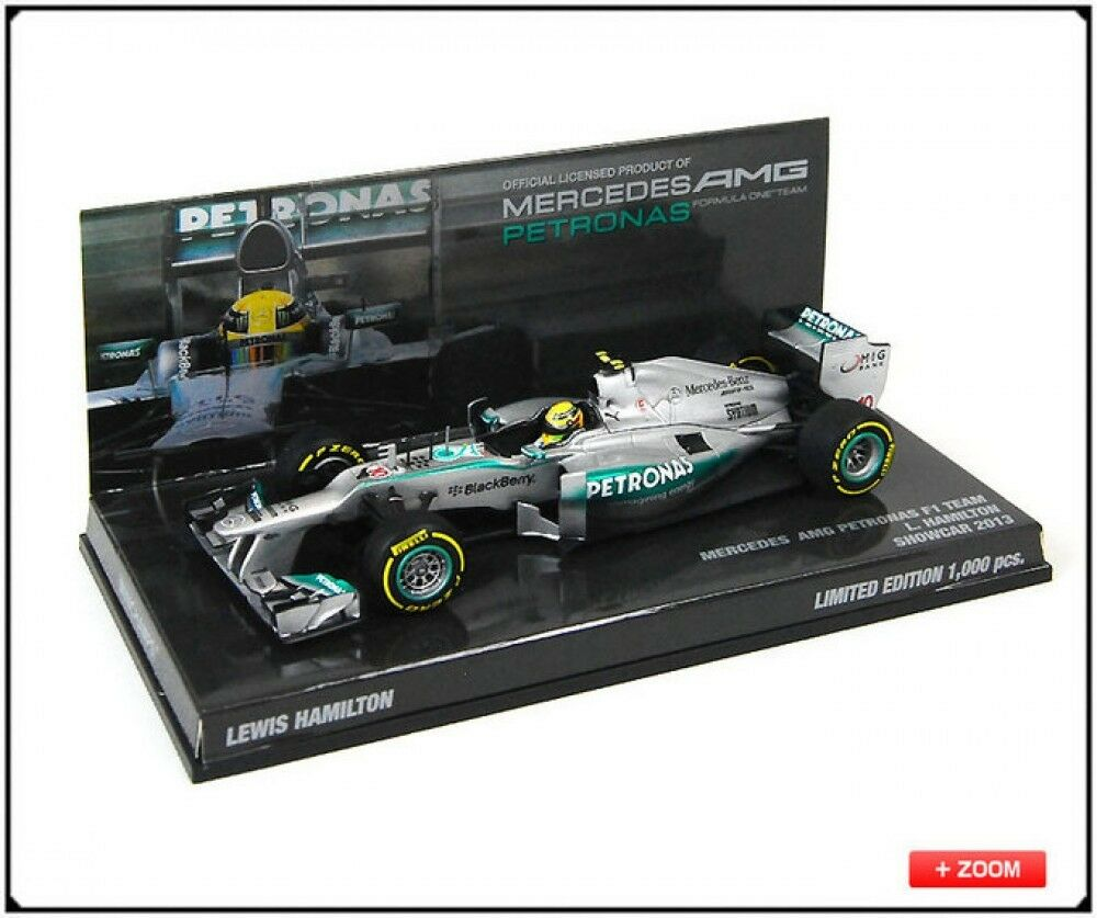Nuovo Minichamps PMA 1/43 Mercedes Mercedes Mercedes AMG F1 model Showcar Lewis Hamilton Limited 4ed595
