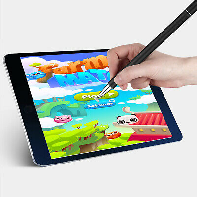 For iPhone iPad Precision Fine Thin Pro Point Capacitive Touch Screen Stylus Pen