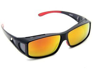 women mens sunglasses polarized Clip Wear Fit Over Glasses coloured ... 0fd720ed0
