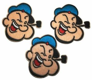 Popeye the Sailor Figure Embroidered Patch